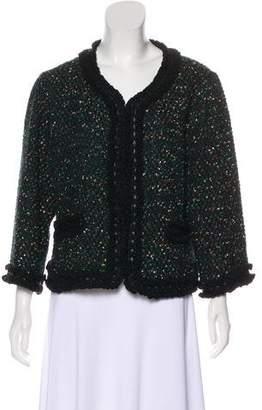 Couture St. John Metallic Tweed Jacket