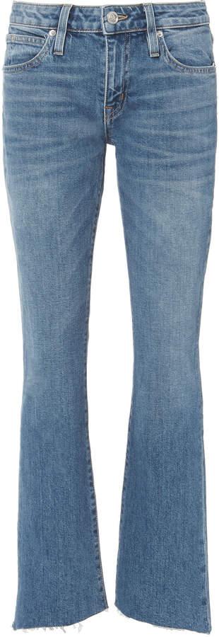 Slvrlake Scarlett Mid-Rise Ankle Kick Flare Jeans