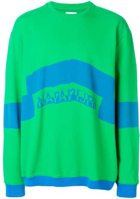 Martine Rose Napa By block colour sweatshirt