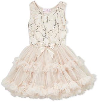 Popatu (Girls 4-6x) Flower Petal Ballerina Dress