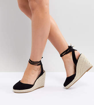 Asos DESIGN Juiciest Wide Fit Espadrille Wedges