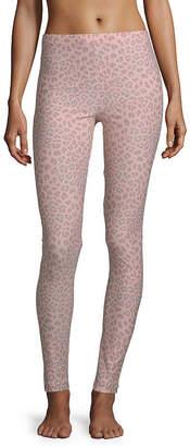 Flirtitude Cheetah Knit Leggings-Juniors