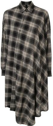 Forme D'expression asymmetirc shirt dress