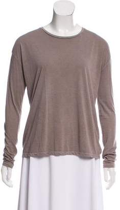 J Brand Basic Long Sleeve Top