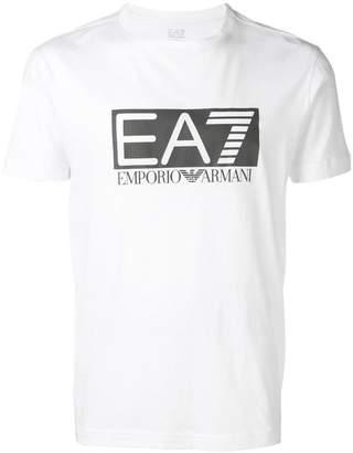 Emporio Armani Ea7 logo print T-shirt