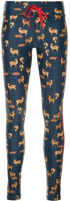 The Upside deer print leggings