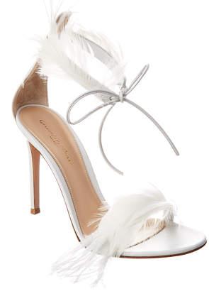 Gianvito Rossi Athena 105 Leather Sandal