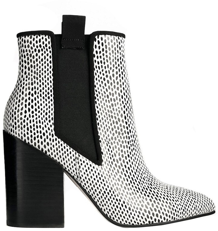 Asos ELECTION Chelsea Ankle Boots - Multi