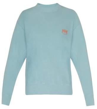 Aries Premium Temple Cotton Sweatshirt - Mens - Blue