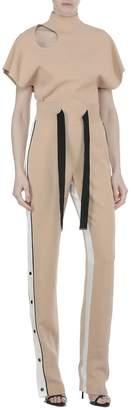 David Koma Tech Fabric Trousers