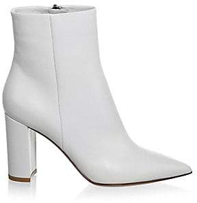Gianvito Rossi Women's Piper Leather Ankle Boots