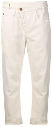 Brunello Cucinelli embellished cropped trousers