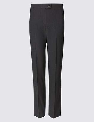 Marks and Spencer Twill Straight Leg Trousers