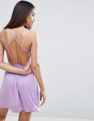 Asos Strappy Back A-line Sundress