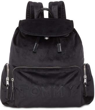 Tommy Hilfiger Tommy Velvet Flap Backpack