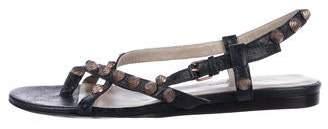 Balenciaga Arena Leather Sandals