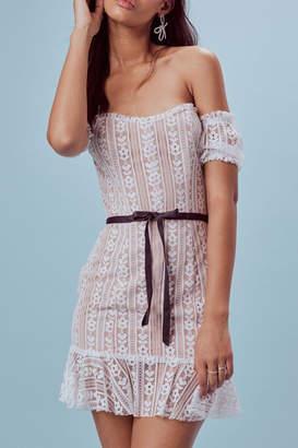 For Love & Lemons Dakota Mini Dress