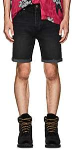 Ksubi Men's Chopper Denim Cutoff Shorts - Black