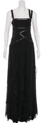 BCBGMAXAZRIA Silk Evening Dress