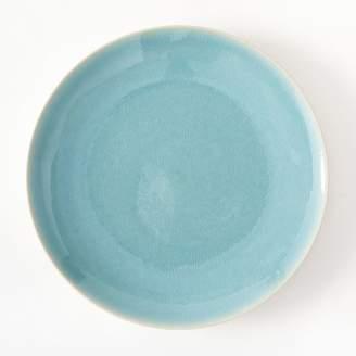 west elm Alta Reactive Glaze Dinner Plates (Set of 4) - Turquoise