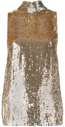 P.A.R.O.S.H. sequin sleeveless top
