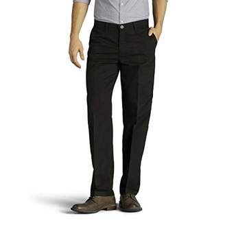 Lee Men's Big & Tall Total Freedom Stretch Relaxed Fit Flat Front Pant