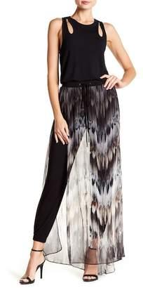Haute Hippie Printed Skirt