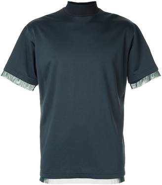 Kolor turtle-neck fitted T-shirt
