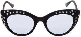 Italia Independent I-Velvet 0927vr Studs Cat-Eye Sunglasses