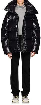 Calvin Klein Men's Logo Oversized Puffer Coat