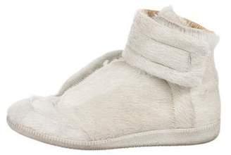 Maison Margiela Ponyhair High-Top Sneakers