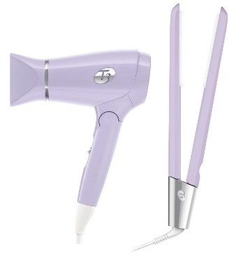 T3 Featherweight Compact & Singlepass Luxe Lavender Styling Set $264 thestylecure.com