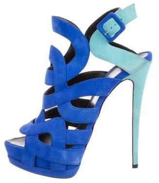 Giuseppe Zanotti Sharon 105 Platform Sandals