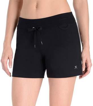 Danskin Women's Drawstring High-Waist Shorts