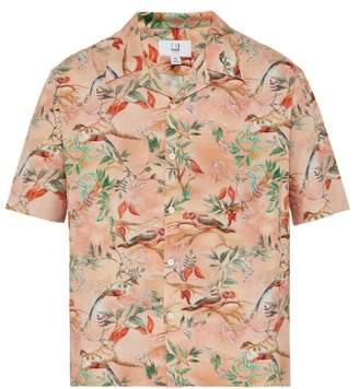 0b7aec7a Dunhill Tropical Bird Print Silk Shirt - Mens - Pink Multi