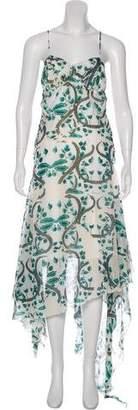 Just Cavalli Print Sleeveless Dress w/ Tags