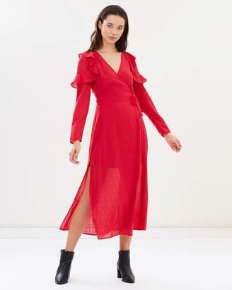 The Fifth Label Window LS Wrap Dress