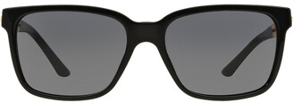 Versace Eyewear square cut out arm sunglasses