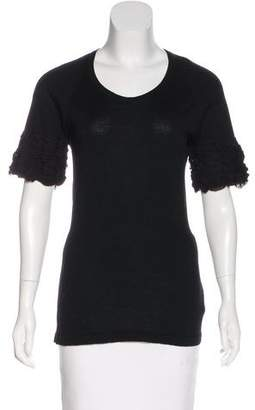 Burberry Wool Knit Top