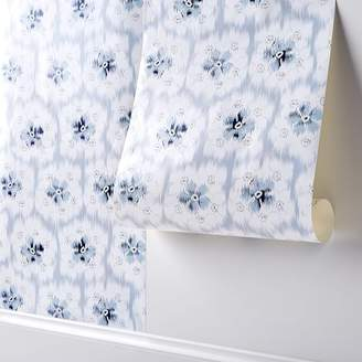 Pottery Barn Teen Lily Ashwell Floral Surestrip Wallpaper, 36&quotx9'
