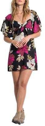 Billabong Delicious Day Floral Print Dress
