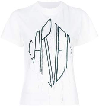 Carven logo patch T-shirt