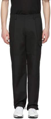 Wooyoungmi Black Oversized Cargo Pants