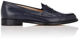 Manolo Blahnik Women's Vazca Leather Penny Loafers