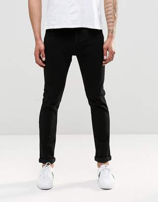 ONLY & SONS Black Slim Fit Jeans with Stretch