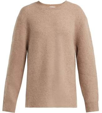JoosTricot Cashmere Blend Oversized Sweater - Womens - Light Brown
