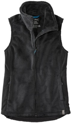 L.L. Bean L.L.Bean Women's Luxe Fleece Long Vest