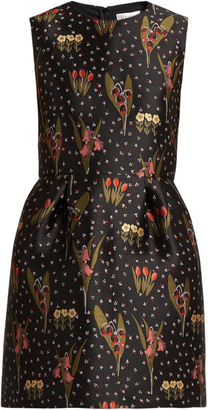 REDVALENTINO Blooming Garden-jacquard dress $437 thestylecure.com
