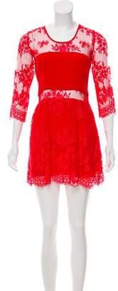 Mason Lace Mini Dress