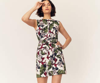 Oasis BALI FLORAL SHIFT DRESS